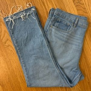 Everlane high rise crop jeans size 33